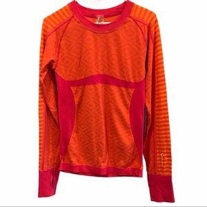 Climawear seamless long sleeve exercise shirt L/xl